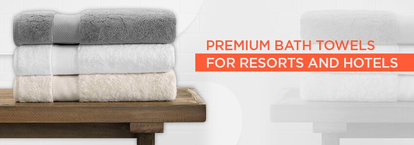 Premium Bath Towels for Resorts and Hotels