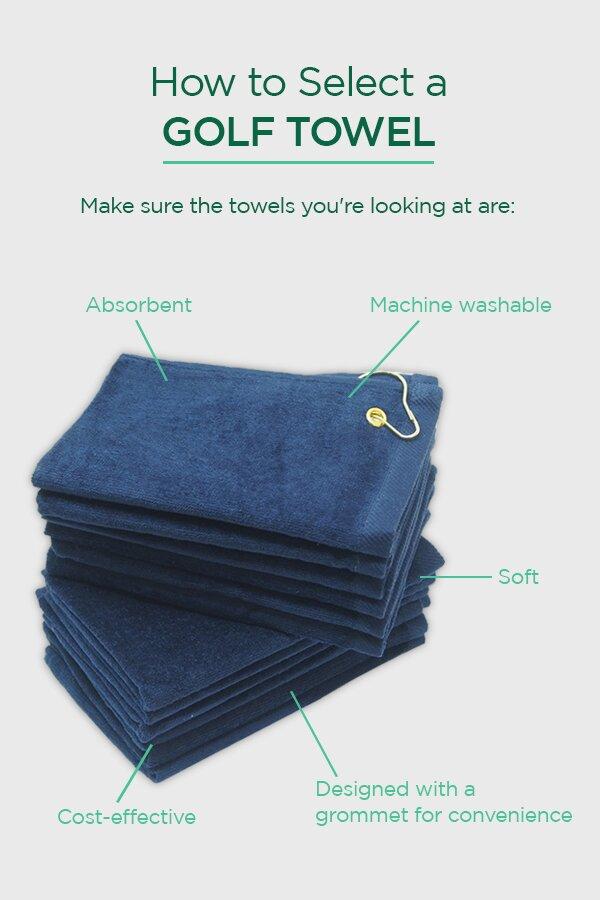 How to Select a Golf Towel [Infographic]