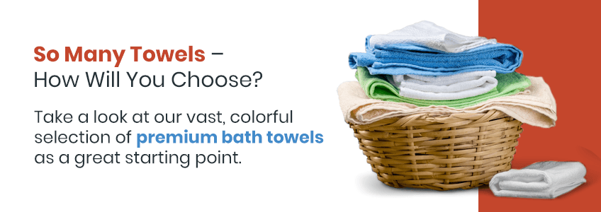 Shop Our Collection of Colored Towels