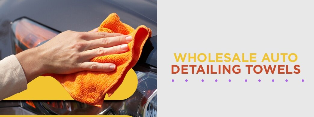 Wholesale Auto Detailing Towels