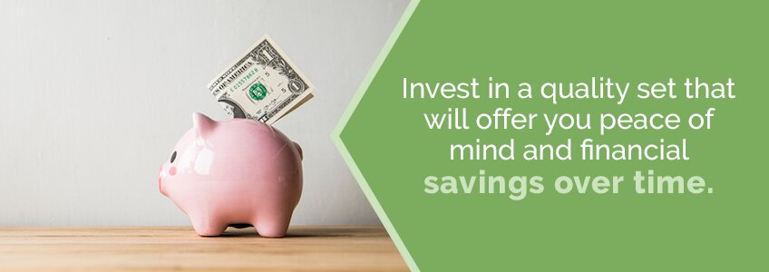 Investing in quality towels will offer savings over time.