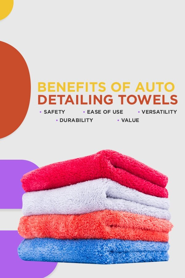 The benefits of auto detailing towels