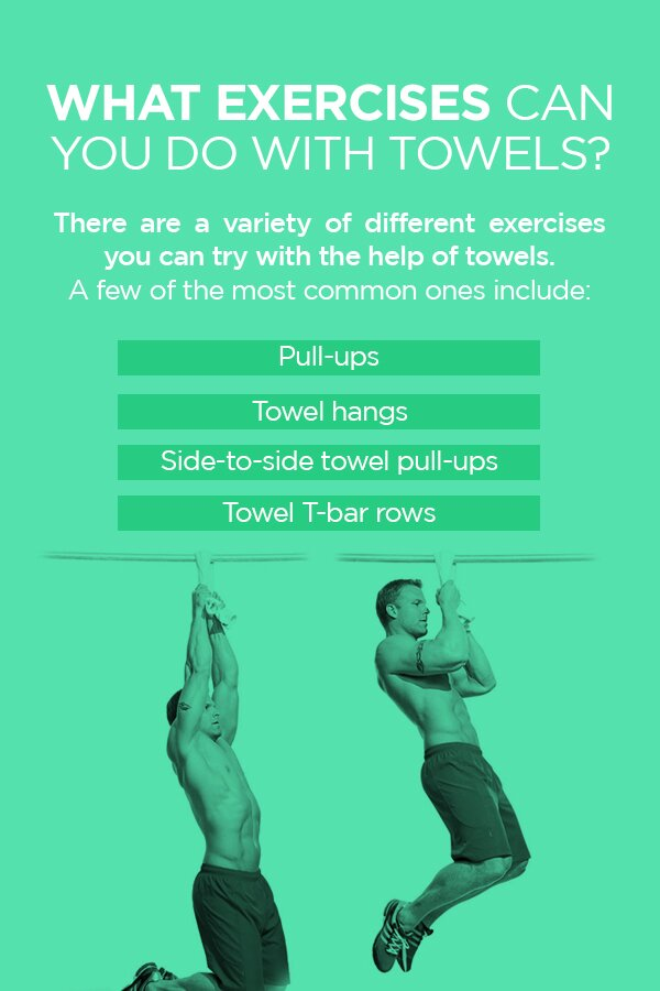 What Exercises Can You Do with Towels?