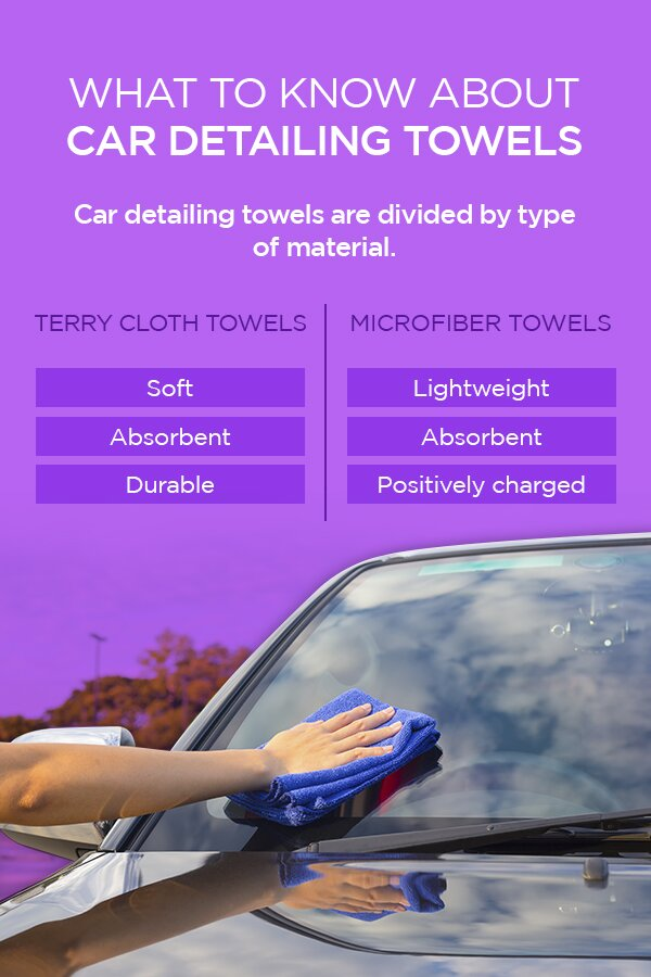 What to Know About Car Detailing Towels