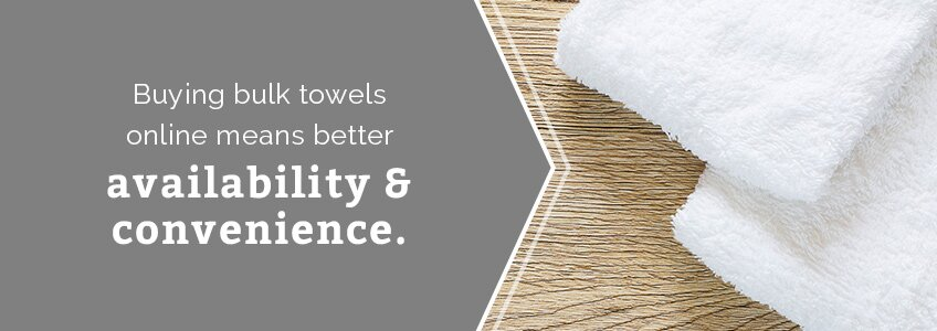 buying bulk bath towels online