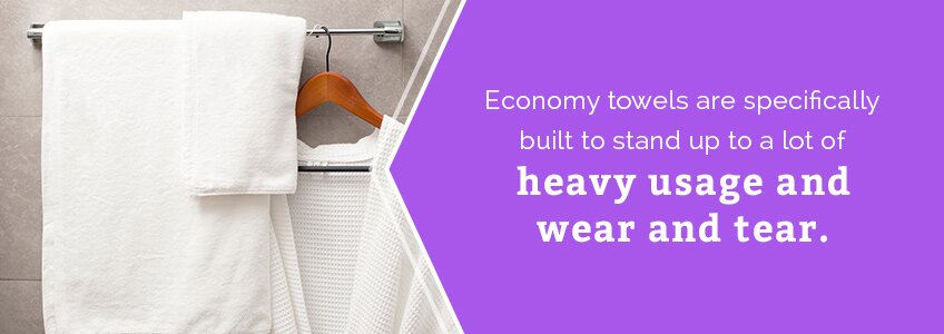 economy towels heavy usage