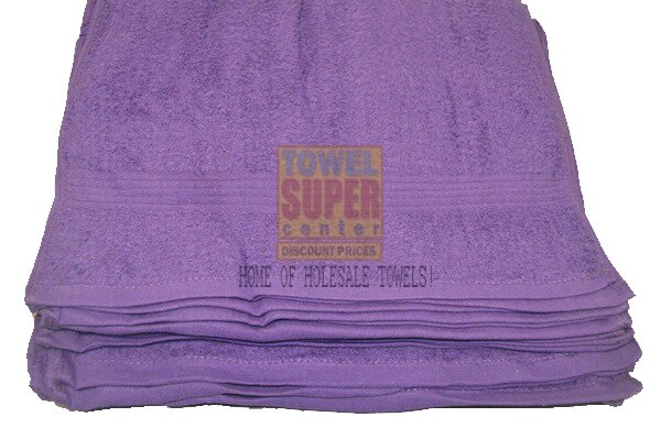 Premium Purple Hand Towels Wholesale