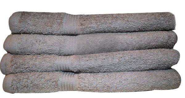 Silver Grey Premium Wholesale 22x24 Towels