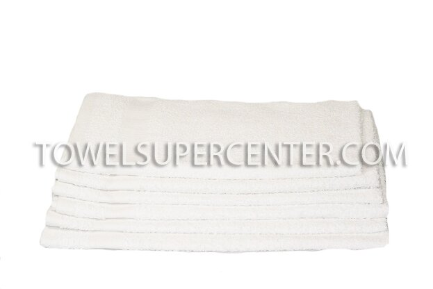 Premium White Spa Hand Towels Wholesale