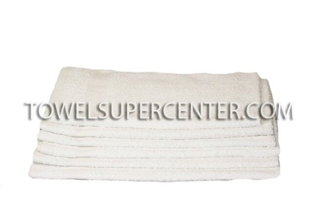 Premium 100% Cotton Wholesale White Hand Towels