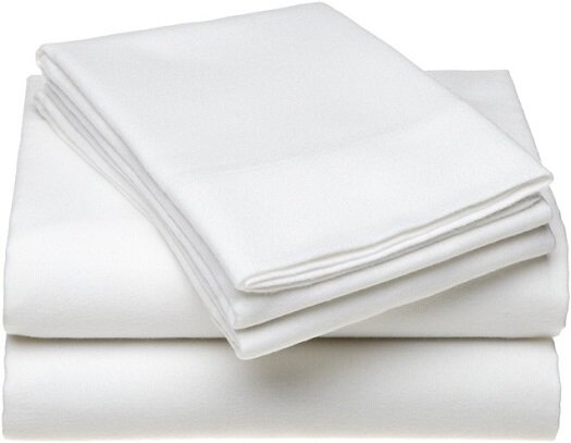 66x104  Twin Flat Bed Sheets T 130