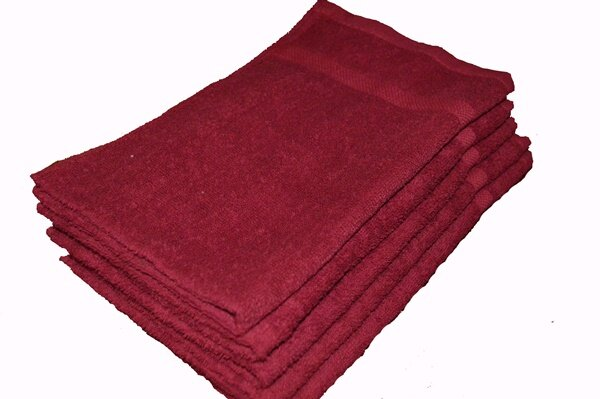 Premium Burgundy Wholesale Towels