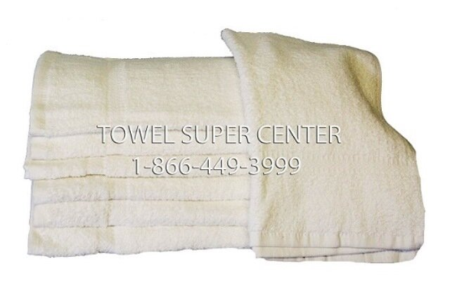 Premium Plus Wholesale White Hand Towels in 100% Cotton