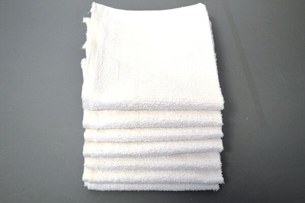 Wholesale White Washcloths