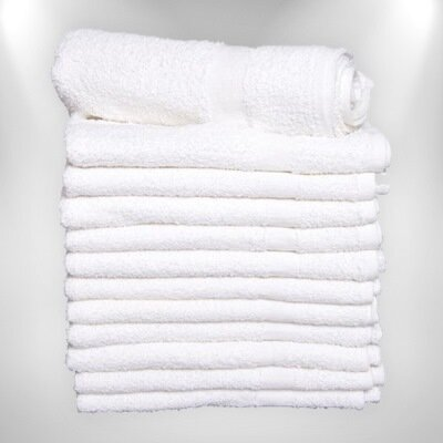 Economy White Hand Towels Wholesale