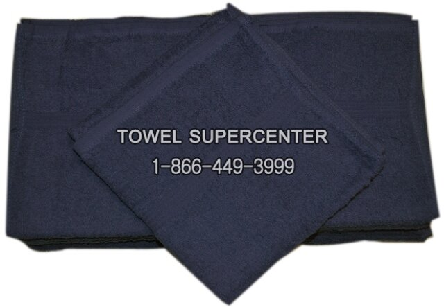 100% Cotton Premium Navy Blue Wholesale Bath Towels