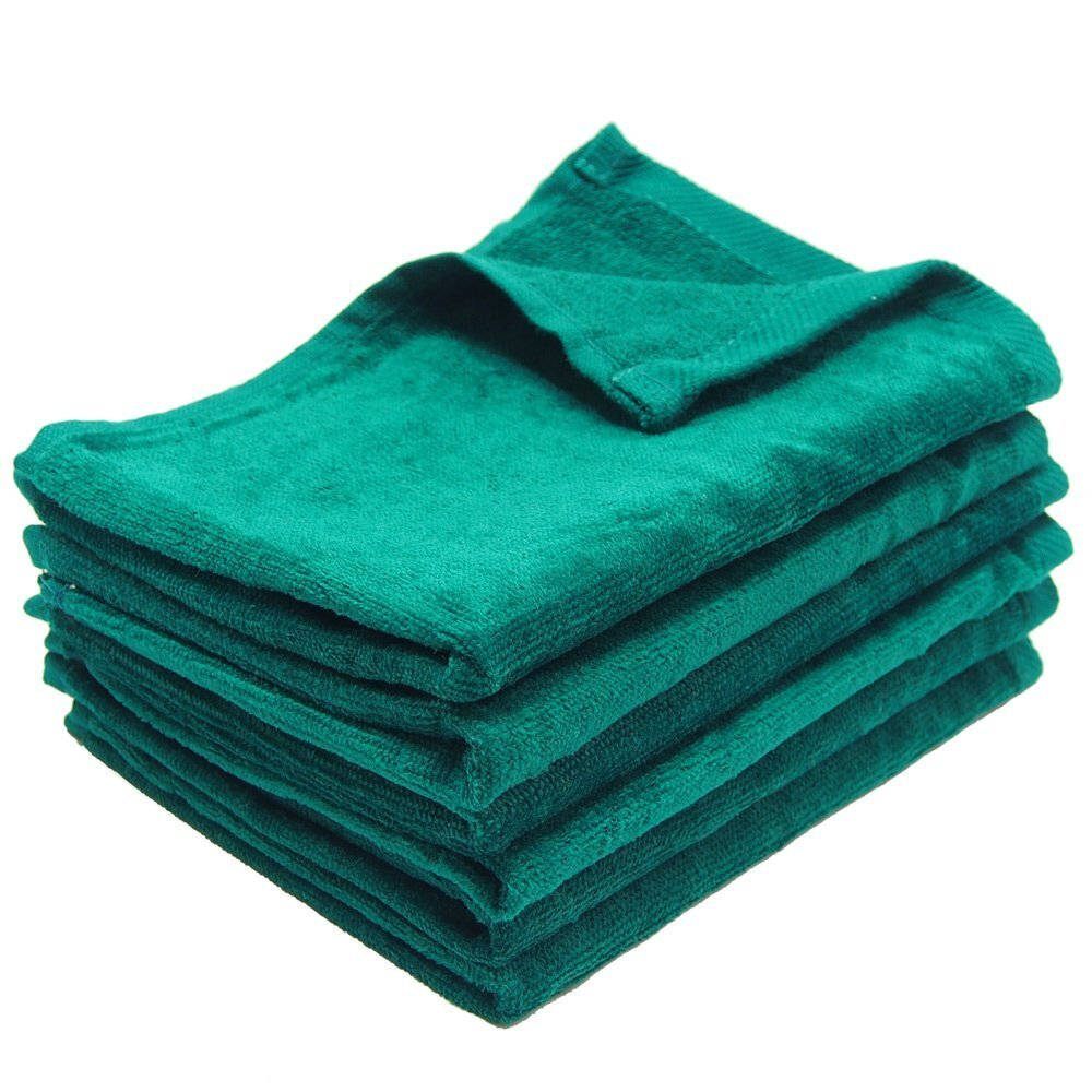Wholesale Hand Towels in Hunter Green | Towel Super Center