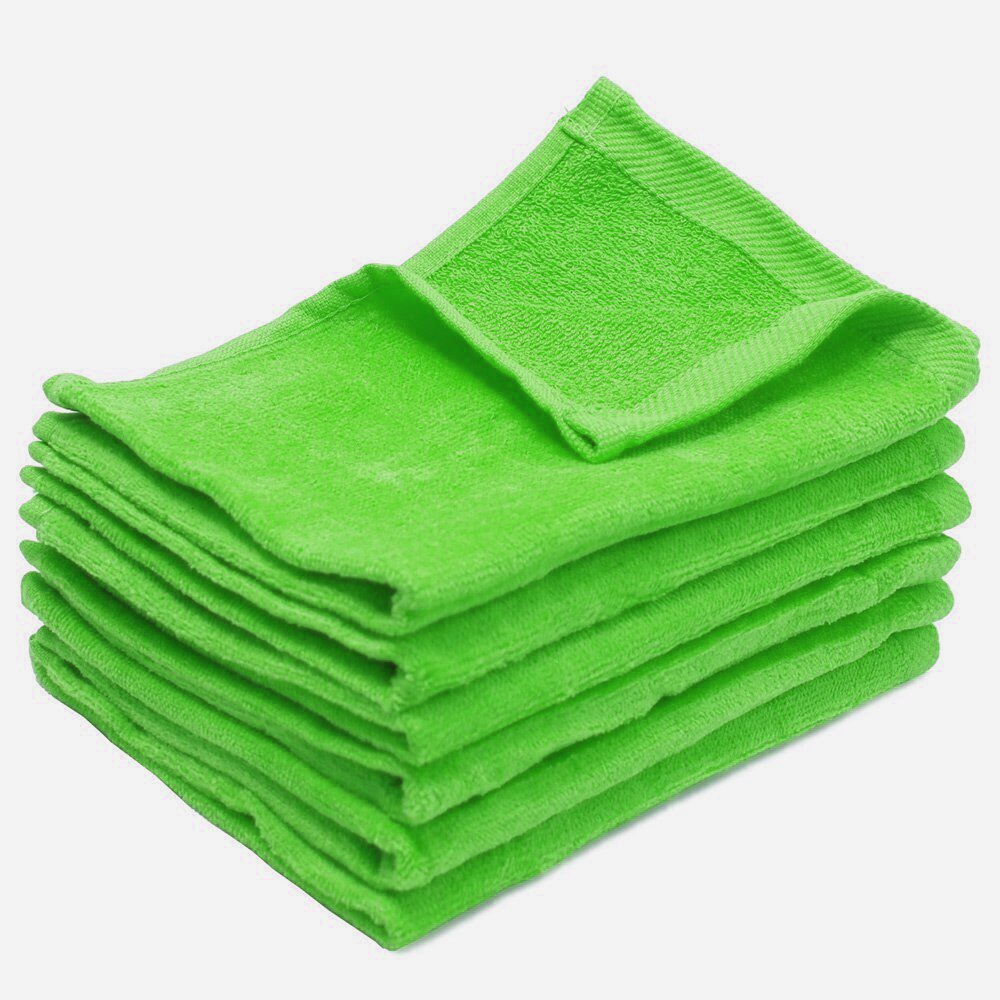 11x18 Wholesale Lime Fingertip Towels Towel Super Center