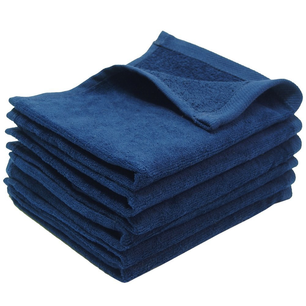 Navy Blue Fingertip Towels Wholesale
