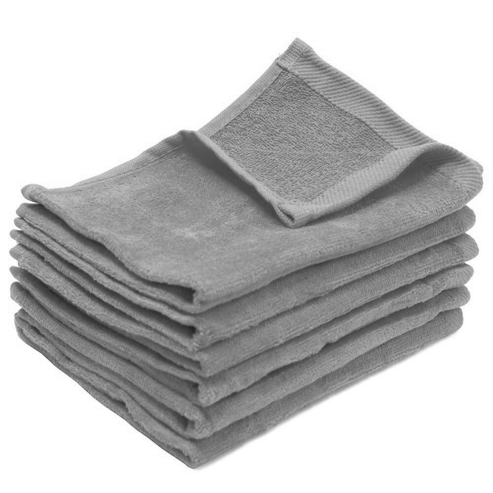 11X18 Wholesale Silver Fingertip Towels
