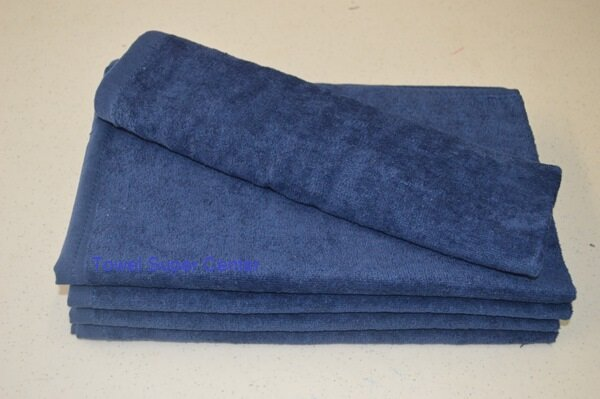 Navy Blue Hand Towels Wholesale