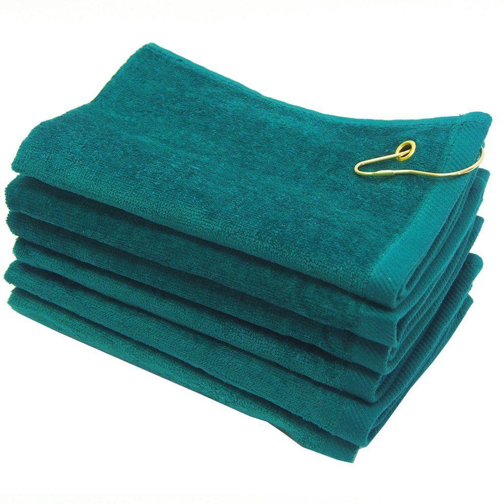 22x44 Towels: 11X18 Wholesale Grommeted Golf Towels