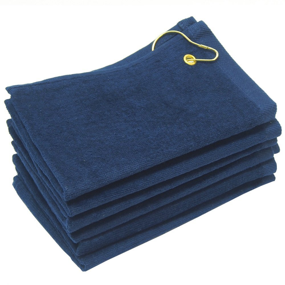 16X26 Wholesale Navy Blue Golf Towels