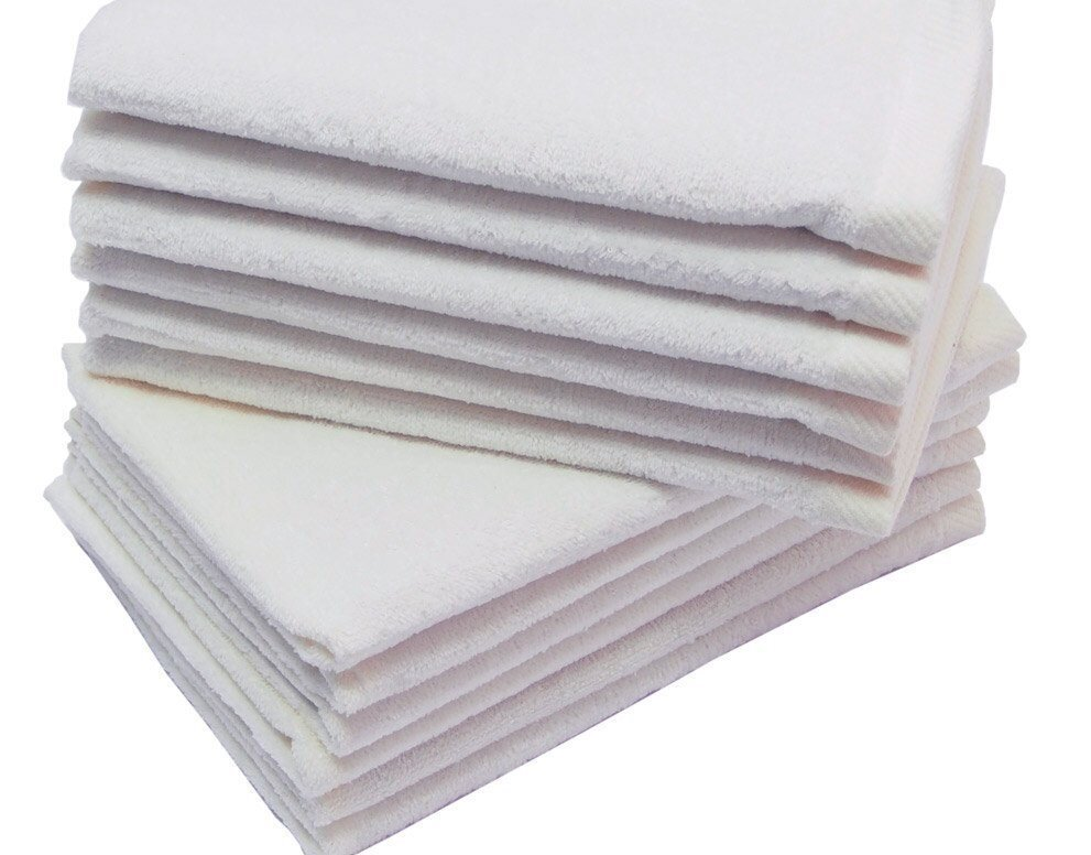11x18 Wholesale White Fingertip Towels Towel Super Center
