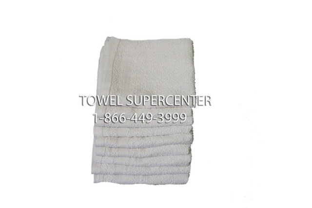 100% Cotton Wholesale White Washcloths