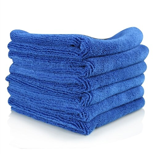 Royal Blue Wholesale Microfiber Towels