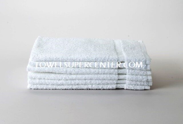 Premium White Hand Towels Wholesale