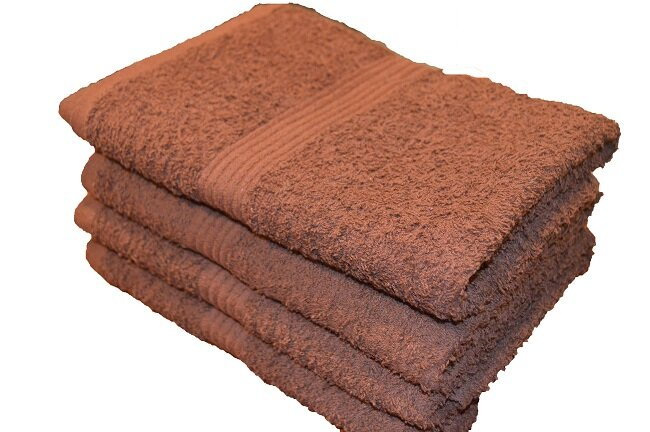 100% Cotton Premium Dark Brown Wholesale Bath Towels