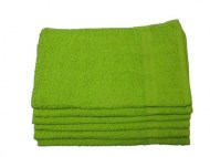 Wholesale Hand Towels 16X27 Lime Green