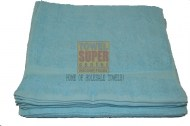 100% Cotton Premium Wholesale Aqua Blue Hand Towel
