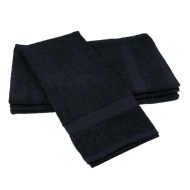 Black hand towels 16X27 Premium 100% cotton