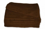 Premium 100% Cotton Dark Brown Wholesale Hand Towels