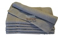16x27- Premium Silver hand towels 100% cotton