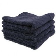 13x13-Black Washcloths -Premium 100% Cotton