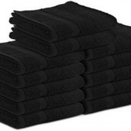 Premium Black Wholesale Bath Towels