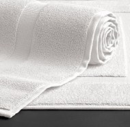 Deluxe White Bath Mats Wholesale