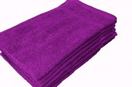 Premium Plush Wholesale Purple Towels