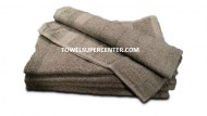 Premium 100% Cotton Silver Grey Wholesale Hand Towels