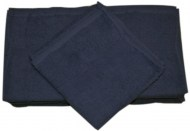 20X40-Wholesale Bath Towels Navy Blue Economy 100% Cot