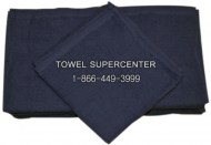 22x44-Premium Navy Blue Bath towels in Bulk 100% Cot