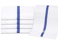 Wholesale Blue Stripe Bath Towels