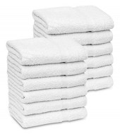 100% Cotton Wholesale White Bath Towels