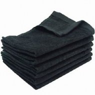 Black Fingertip Towels Wholesale