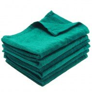 100% Cotton Wholesale Hunter Green Fingertip Towels