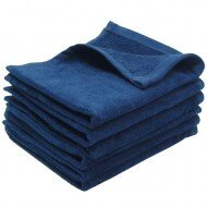 11x18navy blue fingertip towels 100 cotton - Fingertip Towels