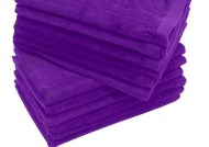 Purple Fingertip Towels Wholesale